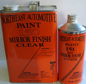 Mirror Finish Urethane Clearcoat Auto Paint Restoration Car Paint