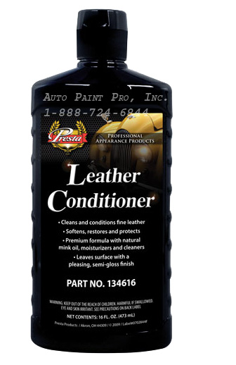Leather Conditioner 134616 marine leather restoration auto paint