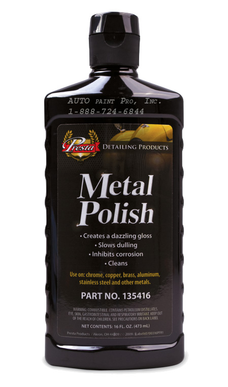 Metal Polish 135416 marine aluminum polish auto paint restoration