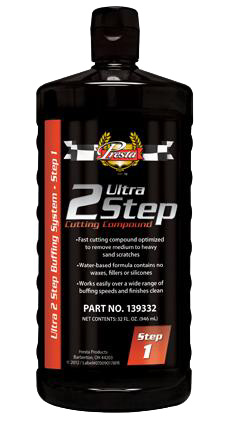 Ultra 2 Step® Cutting Compound presta 139332 compount and detailing auto paint restoration