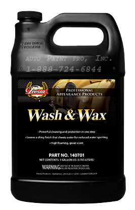 Wash & Wax presta products140701 automotive restoration silicone free auto paint