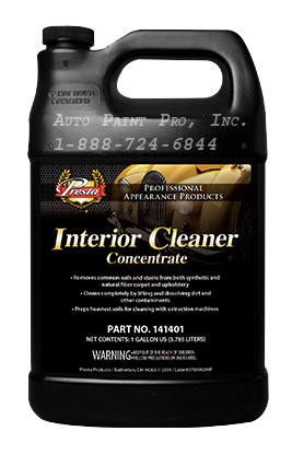 Interior Cleaner Concentrate 141401 upholstery cleaner restoration auto paint