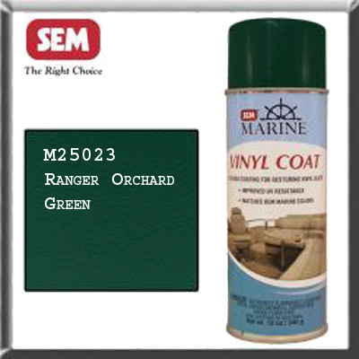 Marine sem vinyl spray paint Ranger Orchid Green M25023