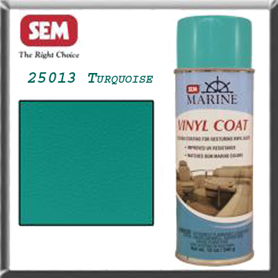 Marine sem vinyl spray paint Ultra Turquoise M25013
