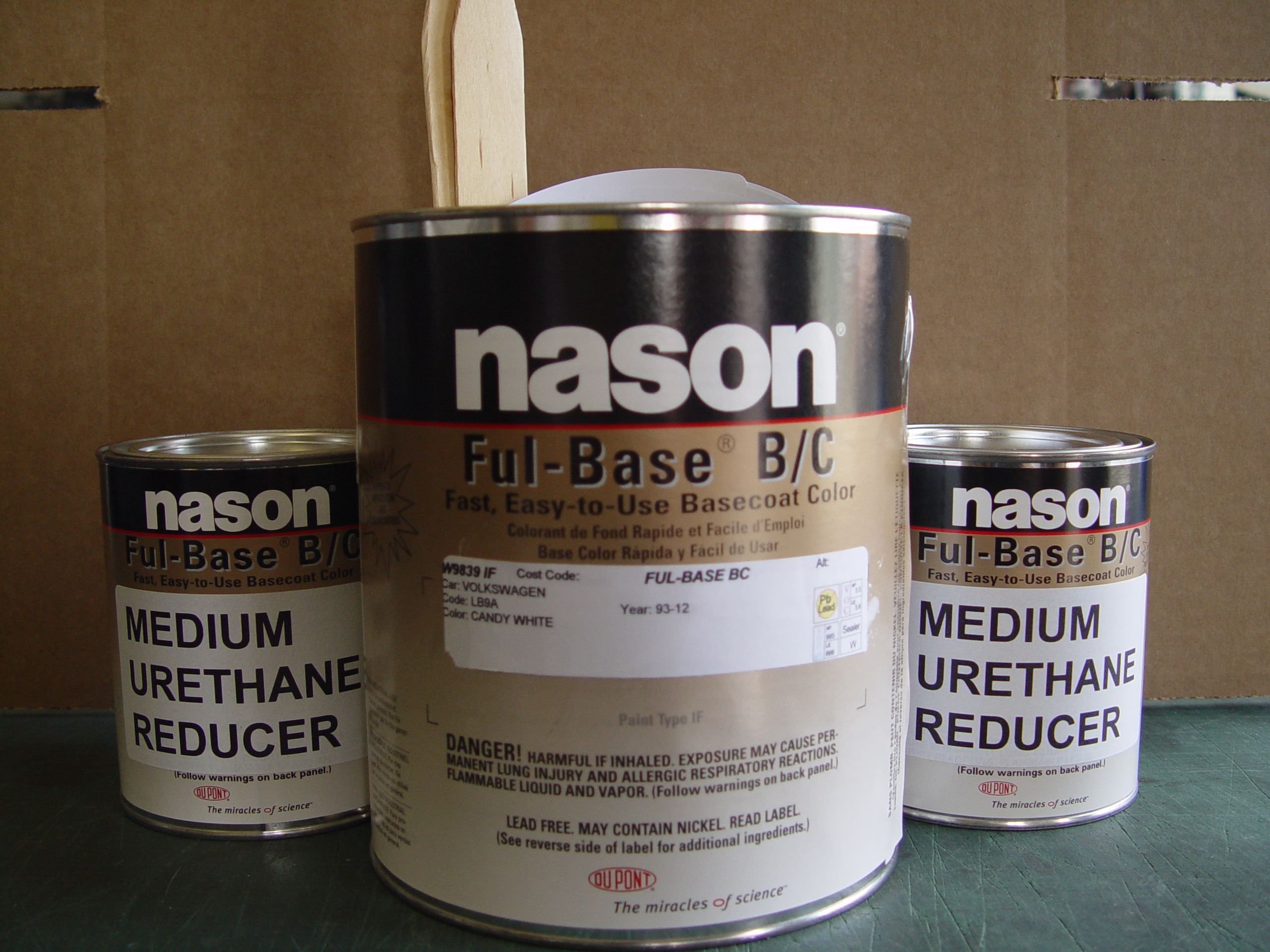 Dupont / Nason Urethane Full Base Candy White