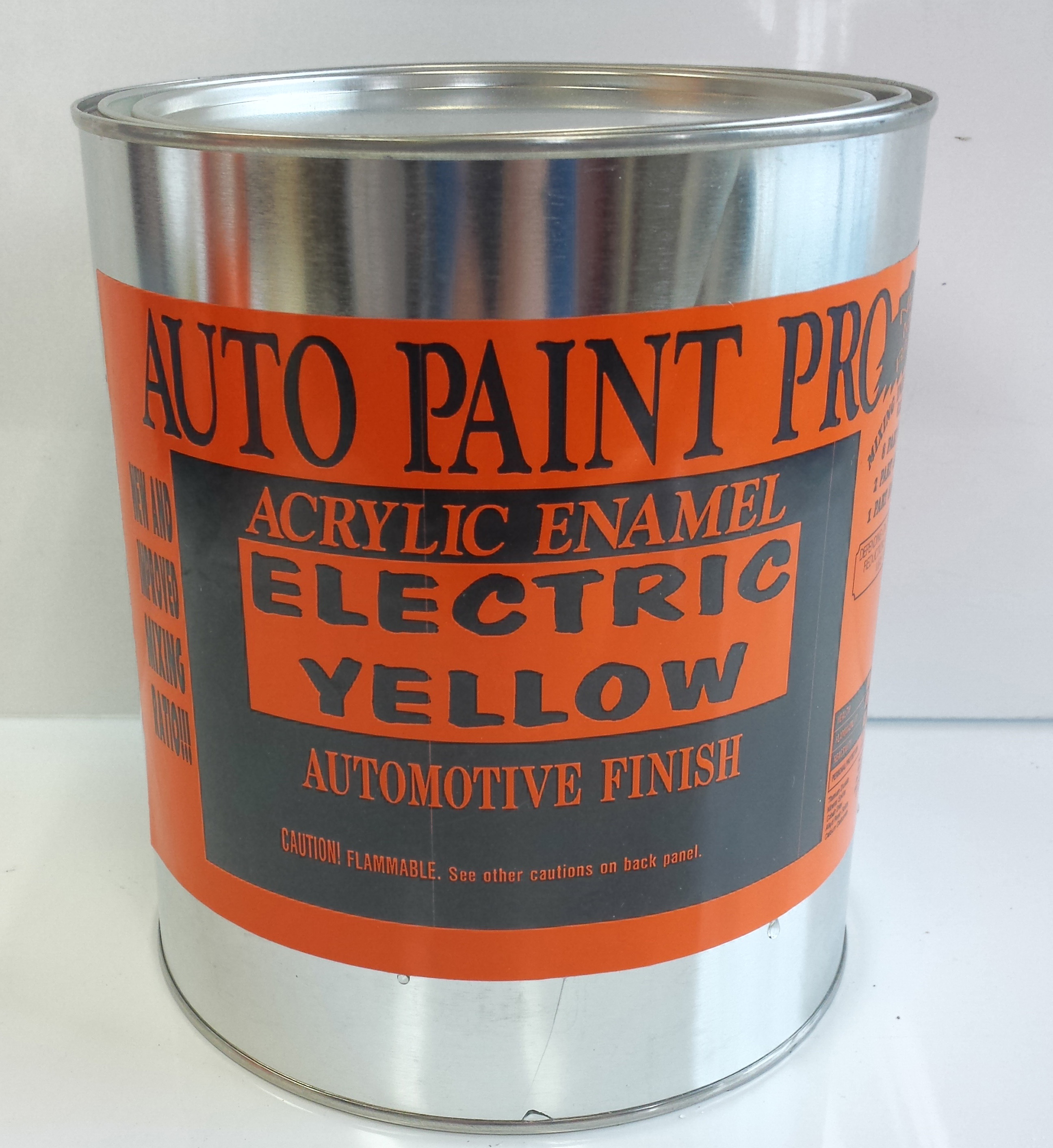 Electric Yellow Acrylic Enamel Auto Paint restoration car paint