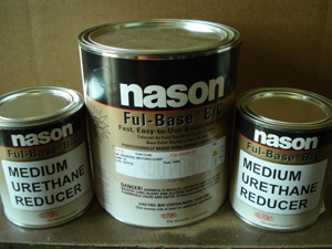 Dupont / Nason Urethane Full Base Fleet White