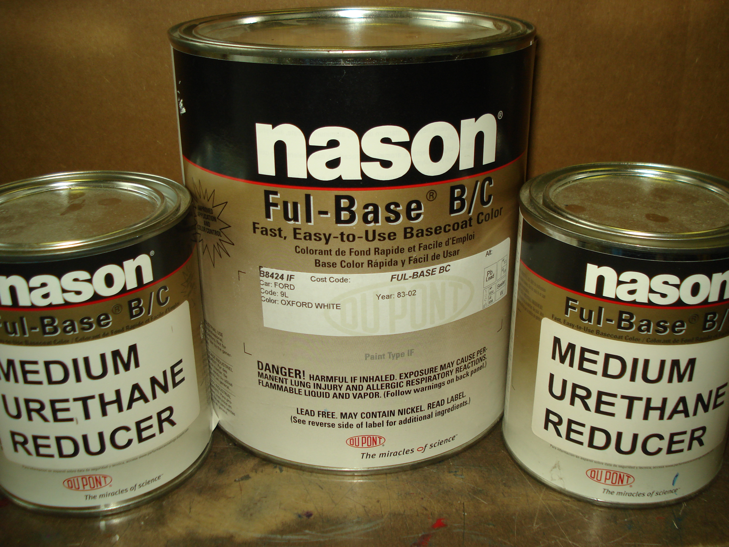 Dupont / Nason Urethane Full Base Oxford White