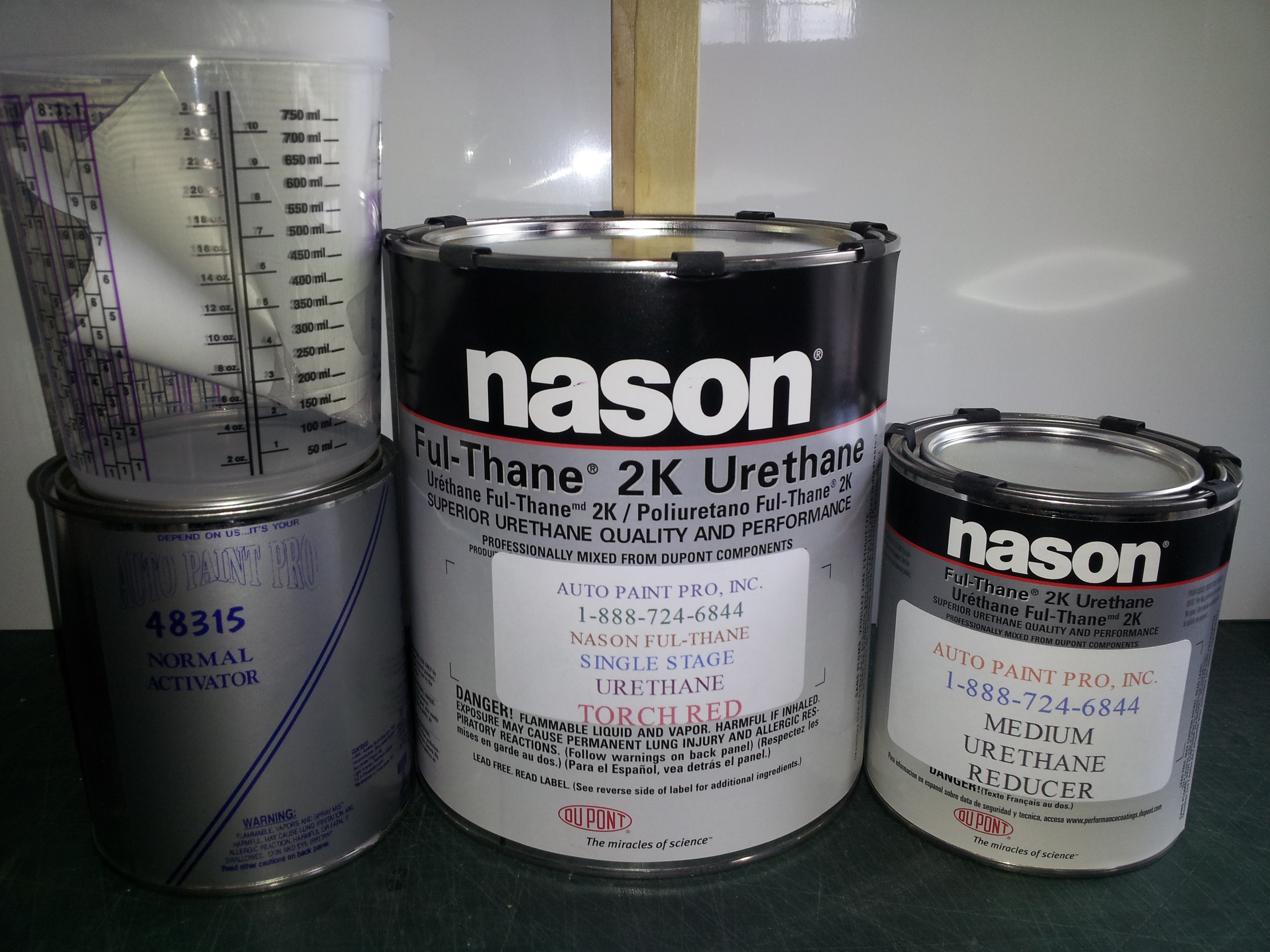 Dupont / Nason Urethane Full Thane 2K Urethane Single Stage